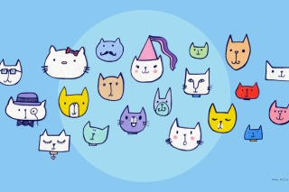 Happy Cats Wallpaper for Android, iPhone and iPad