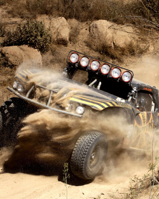 Jesse James Trophy Truck sfondi gratuiti per iPhone 6 Plus