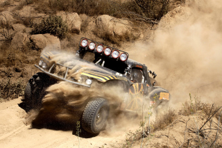 Jesse James Trophy Truck Picture for Android, iPhone and iPad