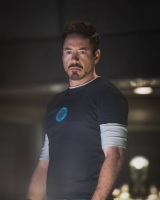 Robert Downey Jr As Iron Man 3 Picture for Nokia Asha 310