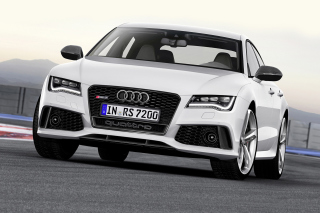 Free 2016 Audi RS 7 Quattro Picture for Android, iPhone and iPad