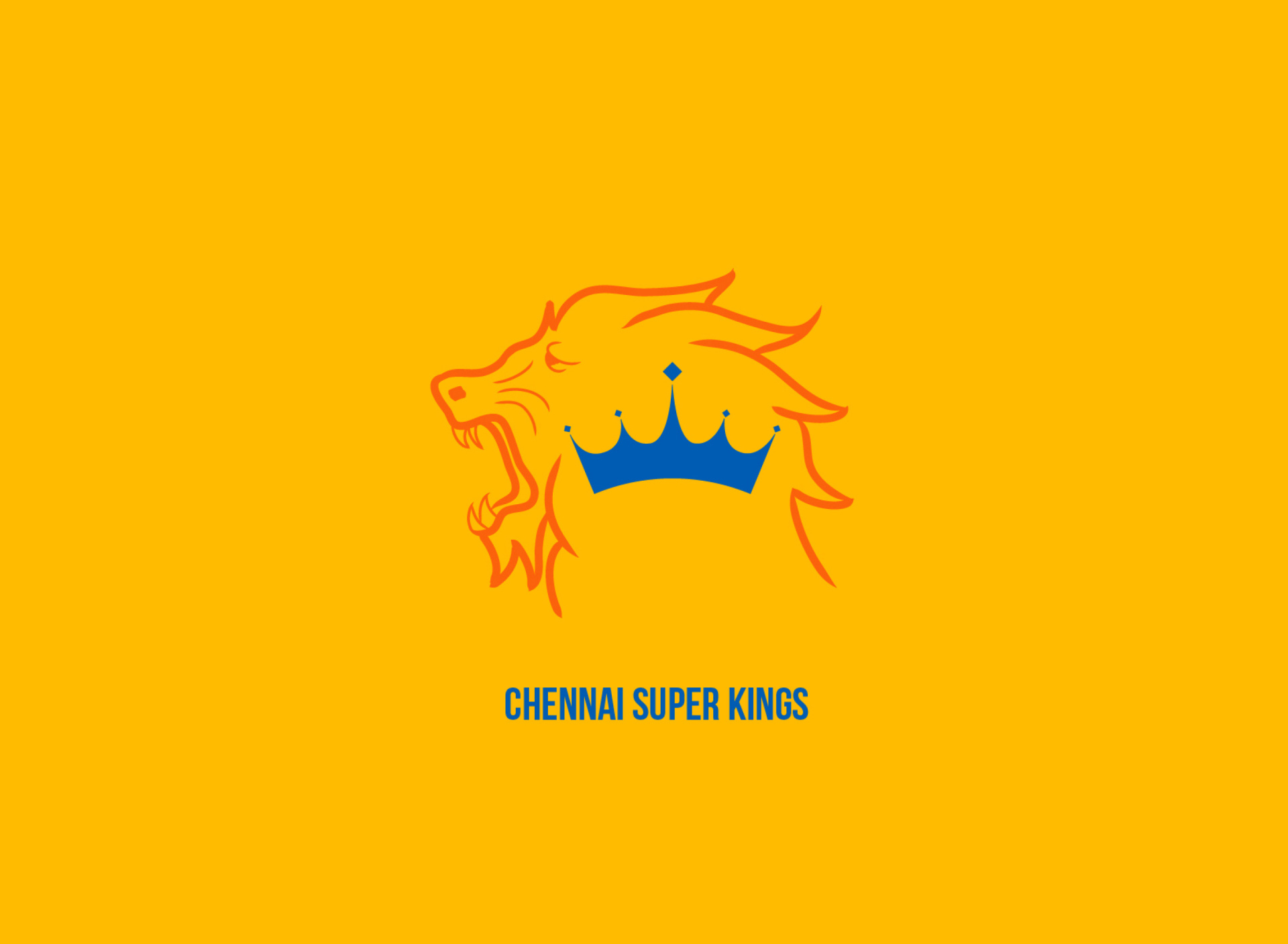 Screenshot №1 pro téma Chennai Super Kings IPL 1920x1408