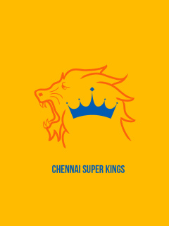 Screenshot №1 pro téma Chennai Super Kings IPL 240x320
