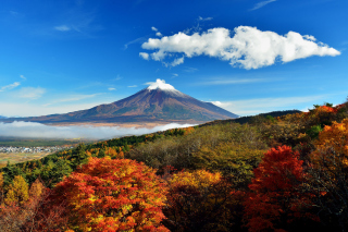 Mount Fuji 3776 Meters Wallpaper for Android, iPhone and iPad