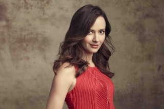 Amy Acker Brunette Background for HTC EVO 4G
