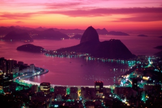 Sugarloaf Mountain Rio Brazil Background for Sony Xperia Tablet S