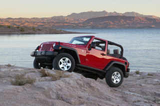 Jeep Wrangler Rubicon Hard Rock sfondi gratuiti per Samsung I9080 Galaxy Grand