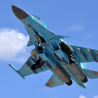 Free Sukhoi Su 34 Strike Fighter Picture for LG KP105