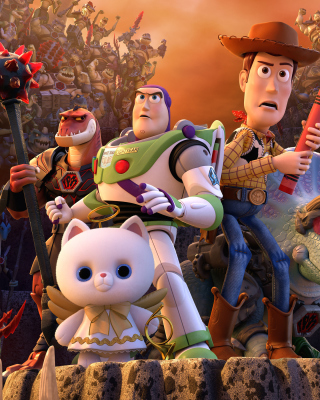 Toy Story That Time Forgot Wide sfondi gratuiti per iPhone 4S