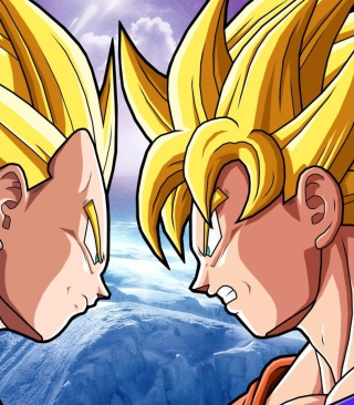 Goku Vs Vegeta Picture for iPhone 6 Plus