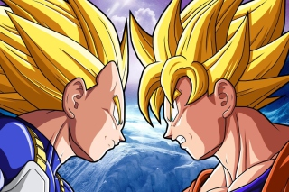 Goku Vs Vegeta Wallpaper for Nokia XL