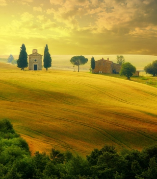 Tuscany - Discover Italy Wallpaper for Nokia C1-00