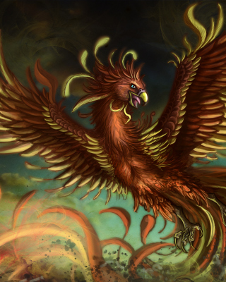 Mythology Phoenix Bird Picture for iPhone 6 Plus