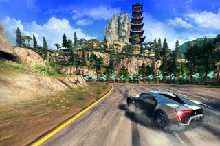 Asphalt 8 Airborne Background for Android, iPhone and iPad