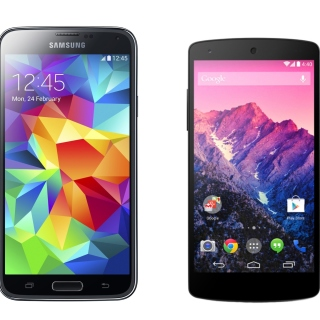 Samsung Galaxy S5 and LG Nexus sfondi gratuiti per 1024x1024