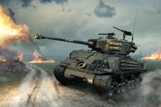 Free World of Tanks Blitz America Picture for Android, iPhone and iPad