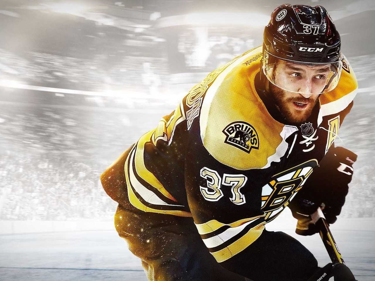 Screenshot №1 pro téma NHL Boston Bruins 1280x960