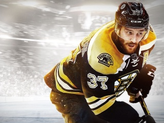 Screenshot №1 pro téma NHL Boston Bruins 320x240