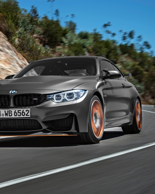 BMW M4 GTS F82 Wallpaper for HTC Titan