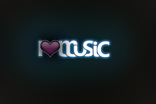 I Love Music Wallpaper for Android, iPhone and iPad