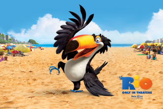 Rafael From Rio Movie Background for 800x480