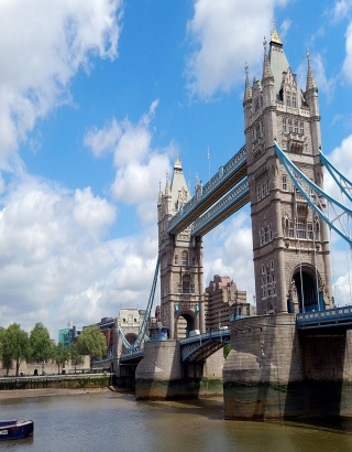 Tower Bridge London sfondi gratuiti per iPhone 6 Plus