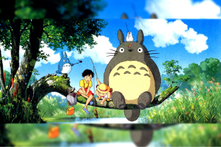 My Neighbor Totoro Anime Picture for Android, iPhone and iPad