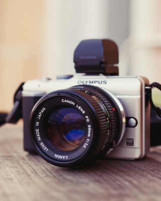 Olympus DSLR Camera Wallpaper for Nokia C7