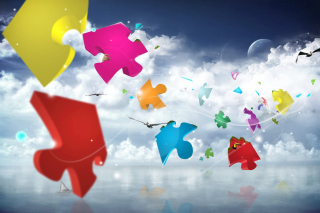 Colorful Puzzle - Fondos de pantalla gratis para Widescreen Desktop PC 1440x900