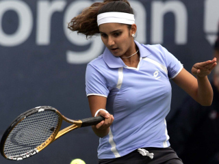 Sania Mirza Background for Android, iPhone and iPad