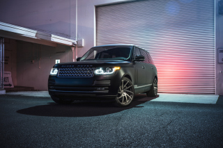 Range Rover Tuning Background for Android, iPhone and iPad