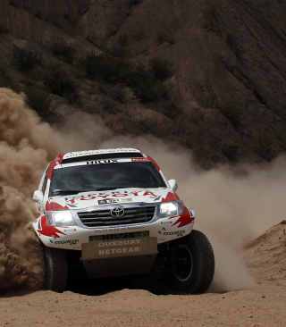 Toyota - Rally In Dakar Wallpaper for Nokia C2-05