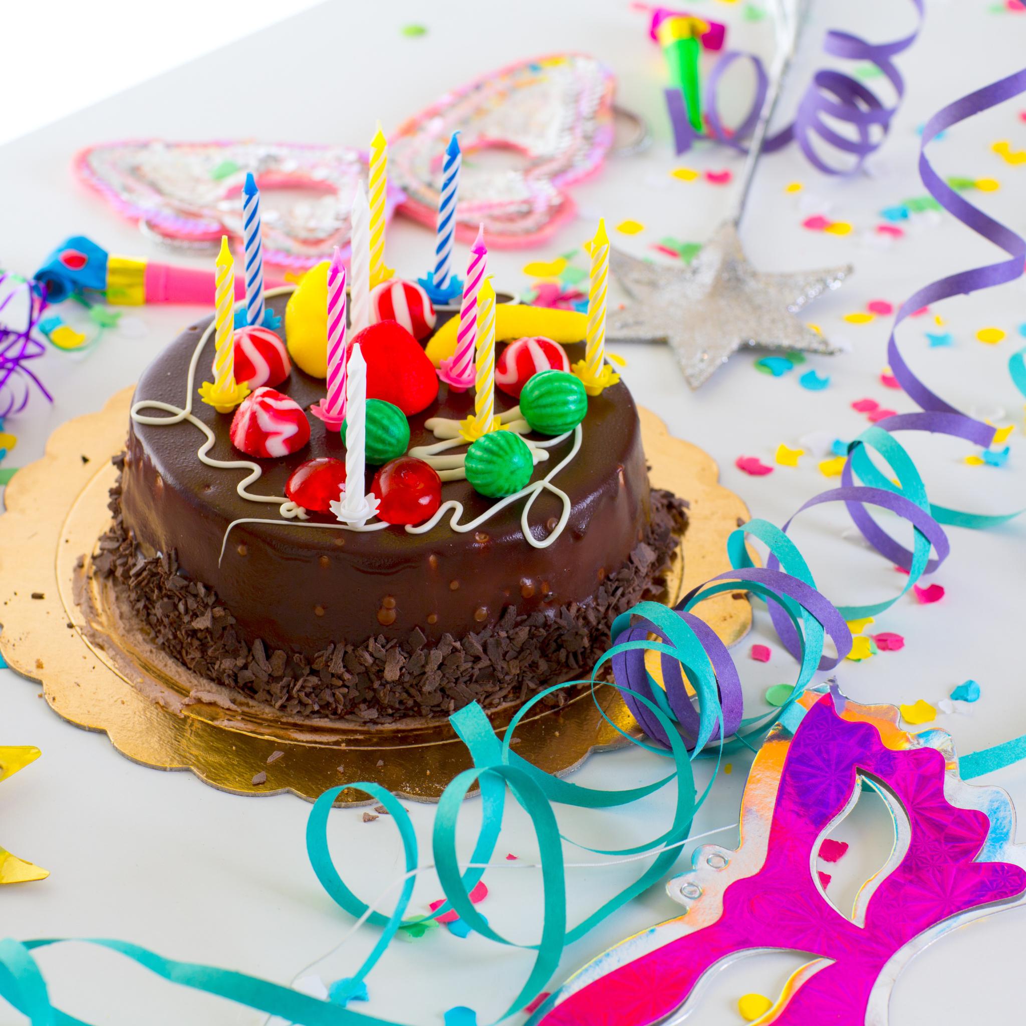 Открытки на торт с юбилеем, дождиком для детей