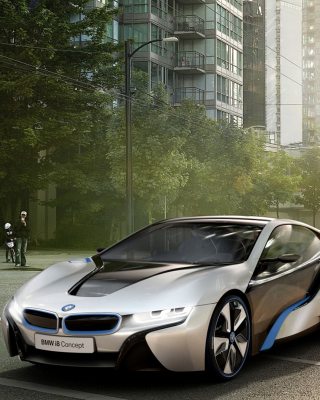 BMW i8 sfondi gratuiti per iPhone 6 Plus