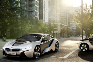 BMW i8 Picture for Android, iPhone and iPad