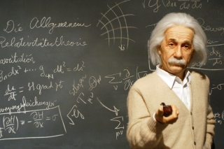 Albert Einstein Wallpaper for Widescreen Desktop PC 1920x1080 Full HD