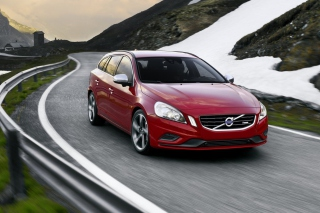Free Volvo V60 Picture for Android, iPhone and iPad