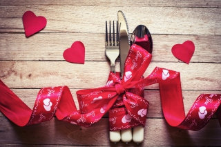 Valentine's Dinner Background for Android, iPhone and iPad