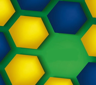 Brazil Vector Style Background for 1024x1024