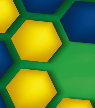 Brazil Vector Style Background for 240x320