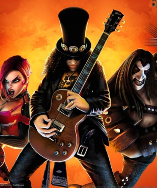 Guitar Hero Warriors Of Rock Wallpaper for iPhone 4S