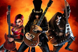 Guitar Hero Warriors Of Rock Wallpaper for LG P970 Optimus