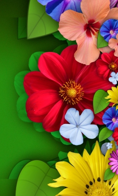 Flowers for Samsung SGH-T528G