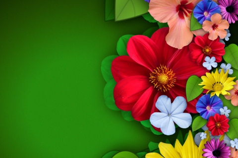Flowers para LG E400 Optimus L3