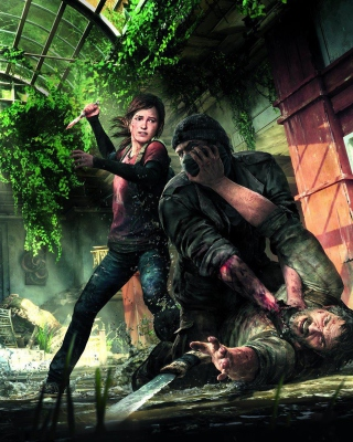 The Last Of Us Naughty Dog for Playstation 3 - Obrázkek zdarma pro Nokia 5800 XpressMusic