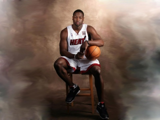 Free Dwyane Wade - Miami Heat Picture for Android, iPhone and iPad