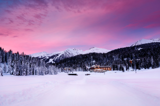 Madonna Di Campiglio Background for Android, iPhone and iPad