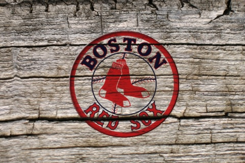 Screenshot №1 pro téma Boston Red Sox Logo 480x320