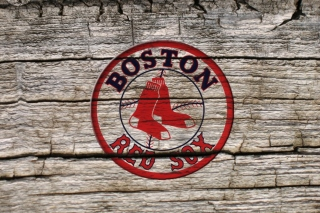 Kostenloses Boston Red Sox Logo Wallpaper für Samsung Galaxy S6
