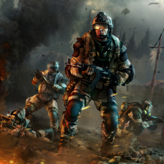 Warface Game sfondi gratuiti per iPad 3